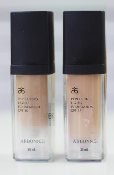 Arbonne: Perfecting Liquid Foundation - Review ...
